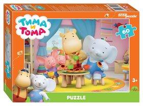 Пазл 60 элементов Тима и Тома  Step puzzle