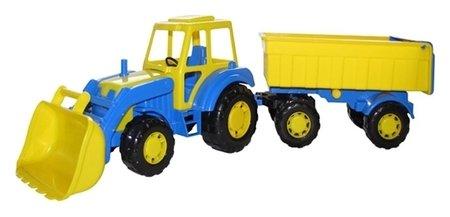 Трактор с прицепом и ковшом Мастер  Полесье
