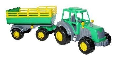 Трактор с прицепом Мастер  Полесье