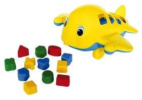 Самолет-кит с логическими фигурами