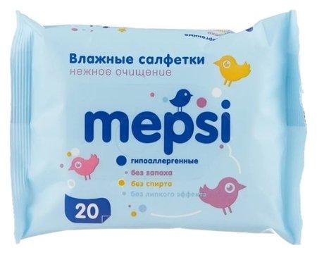 Влажные салфетки детские  Mepsi