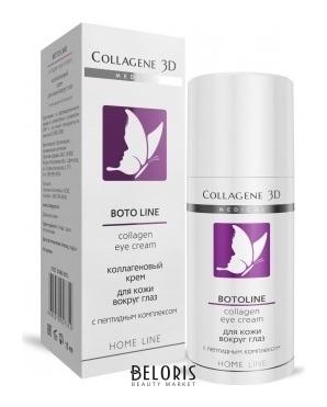 Купить Крем вокруг глаз Medical Collagene 3D, Коллагеновый крем для кожи вокруг глаз с пептидным комплексом boto line, Россия