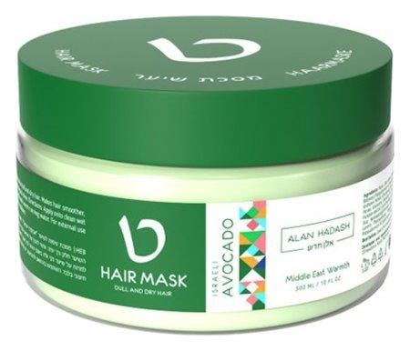 Маска для тусклых и сухих волос Israeli Avocado  Alan Hadash