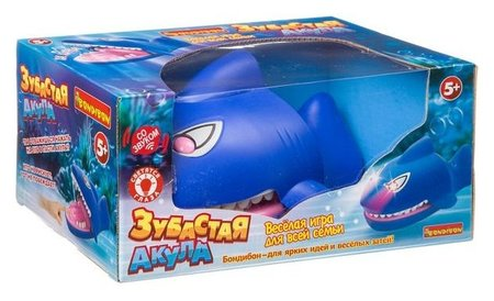 Настольная игра Зубастая акула  Bondibon