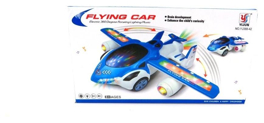 Самолет инерционный со светом и звуком  Yijun Toys