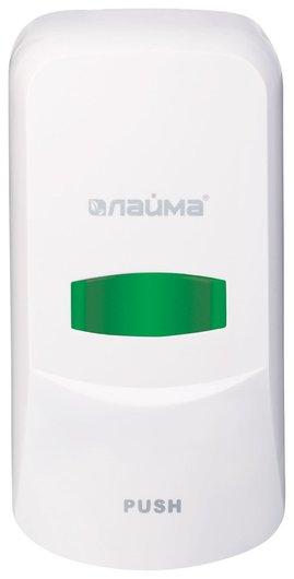 Диспенсер для жидкого мыла Professional, наливной, 0,6 л, белый, Abs-пластик  Лайма