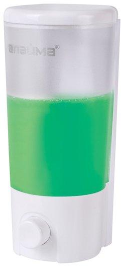 Диспенсер для жидкого мыла наливной, 0,38 л, Abs-пластик, белый (Матовый)  Лайма