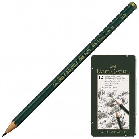 "Карандаши чернографитные ""Castell 9000 Art Set""  Faber-castell"