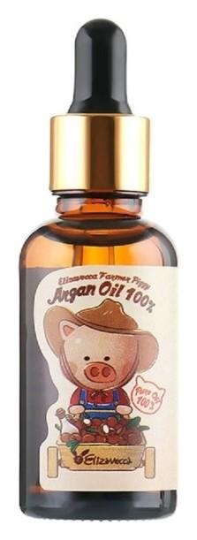 Масло аргановое для лица, тела и волос Argan Oil 100%  Elizavecca