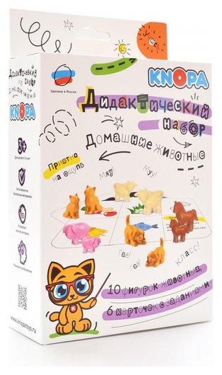 Дидактический набор Домашние животные  Knopa