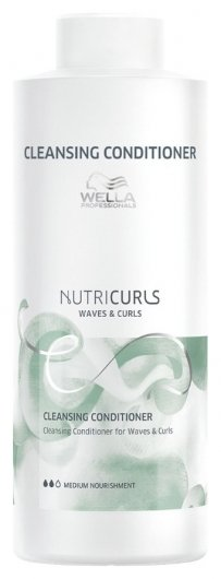 Очищающий бальзам для вьющихся и кудрявых волос  Wella Professional
