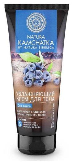 """Крем для тела увлажняющий с соком тайги """"Идеальная гладкость и эластичность кожи""""  Natura Siberica"""