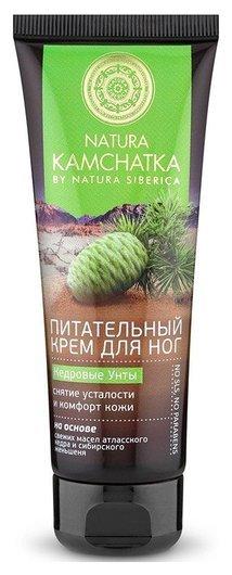 Крем для ног снятие усталости и комфорт кожи «Кедровые унты»  Natura Siberica