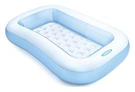 Надувной бассейн прямоугольный  Intex
