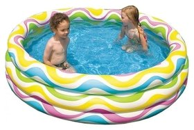Надувной бассейн Волны 147 х 33 см  Intex