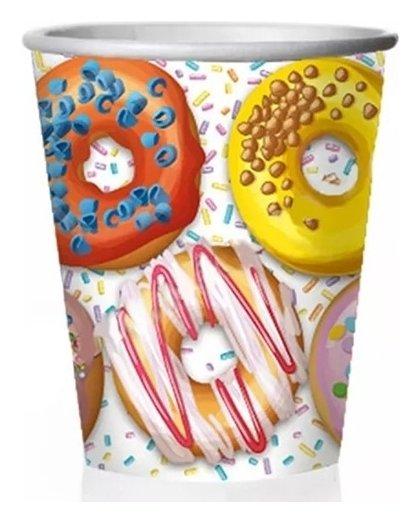 Стаканы бумажные Пончики  Микрос