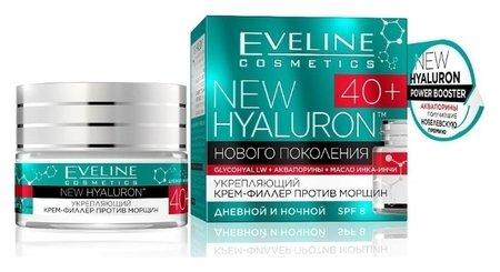 Укрепляющий крем-филлер против морщин 40+  Eveline Cosmetics