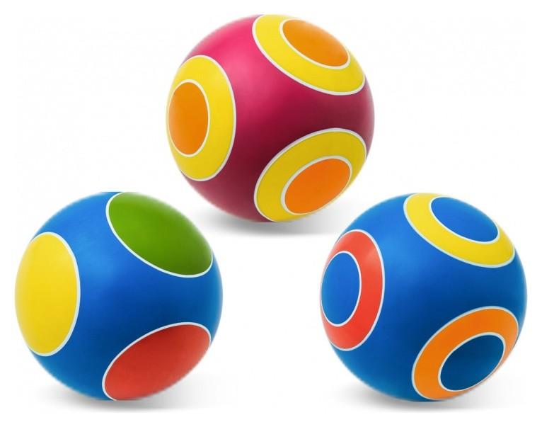 Мяч Кружочки ручное окрашивание  Чебоксарские мячи
