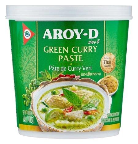 Паста Карри зеленая  Aroy-D