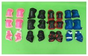 Защита на локти, колени и ладони, разноцветная