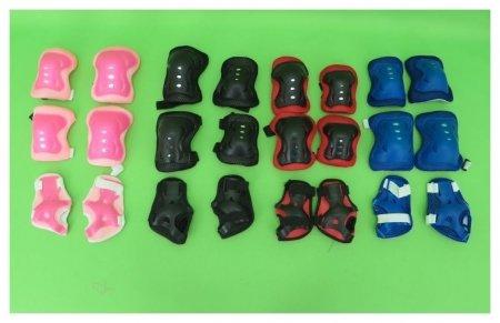 Защита на локти, колени и ладони, разноцветная  КНР Игрушки