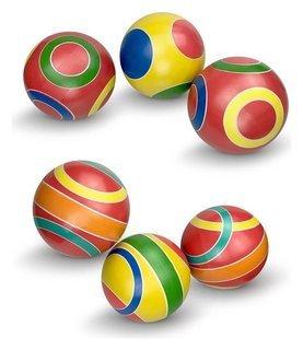 Мяч ручное окрашивание