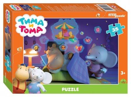 Пазл 35 элементов Тима и Тома  Step puzzle