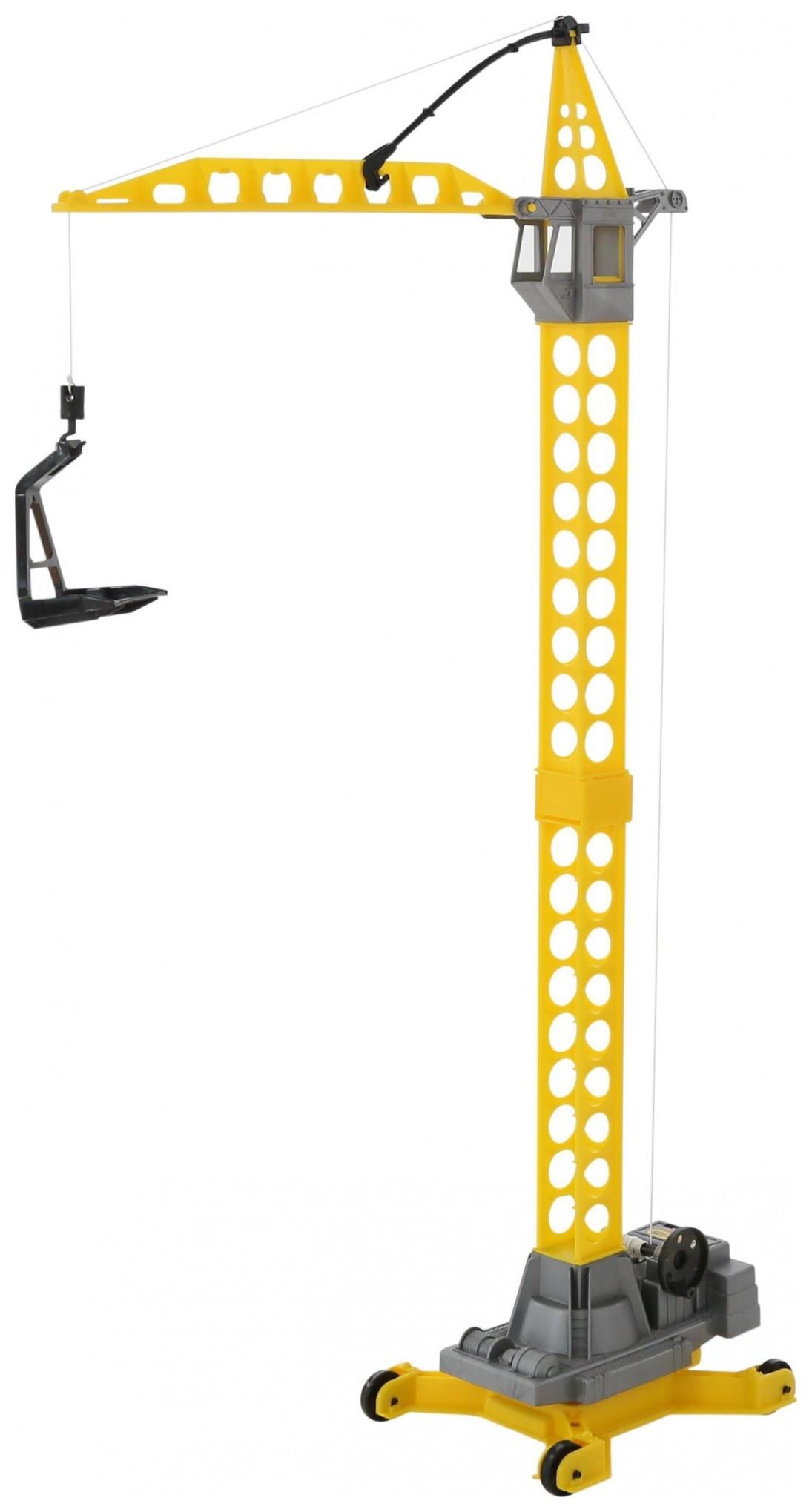 Башенный кран на колёсиках большой Агат  Полесье