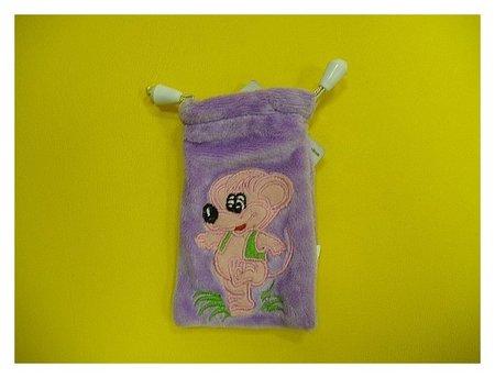 Чехол для сотового телефона плюшевый Мышка  КНР Игрушки