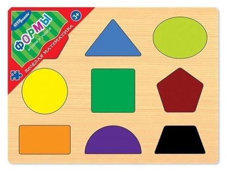 Настольная игра Формы  Step puzzle