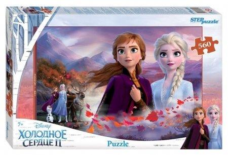 Пазл 560 элементов Холодное сердце - 2  Step puzzle
