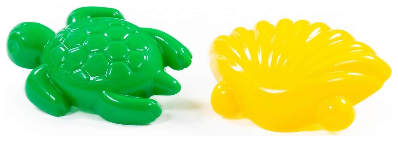 Формочки ракушка №1 + черепаха  Полесье