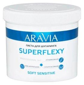 Паста для шугаринга для чувствительной кожи Superflexy Soft Sensitive Aravia Professional
