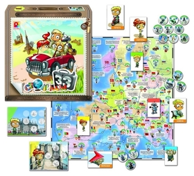 Настольная игра 33 столицы  Радуга
