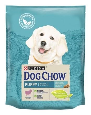 Корм для щенков до 1 года всех пород с ягненком  Dog chow
