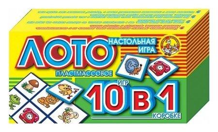 Настольная игра Лото 10 в 1  Десятое королевство