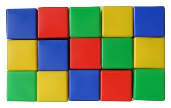 Набор кубиков 15 элементов  Десятое королевство