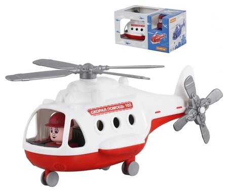 Вертолёт скорая помощь Альфа  Полесье