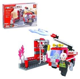 Конструктор Пожарная часть 133 детали