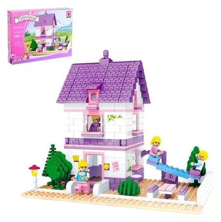 Конструктор Дом с площадкой 366 деталей  Ausini