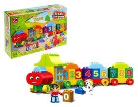 Конструктор Числовой поезд: учимся считать 50 деталей  Kids home toys