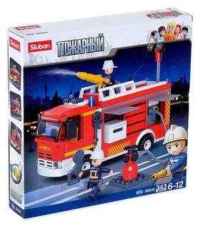 Конструктор Пожарная машина 343 детали