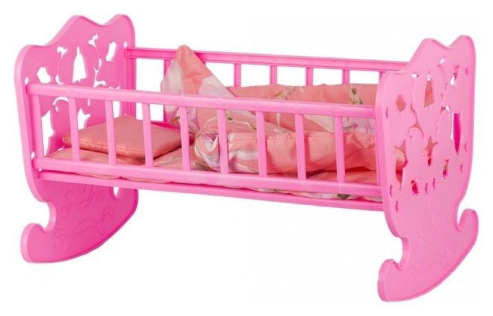 Кровать кукольная с комплектом белья  Стром