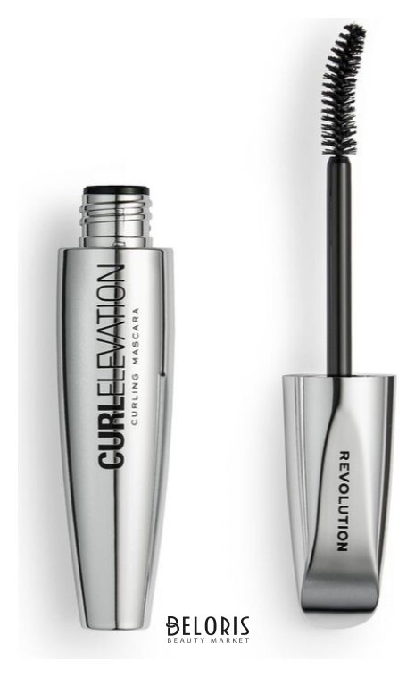 Тушь для ресниц подкручивающая Curl Elevation Curling Mascara Makeup Revolution Mascara