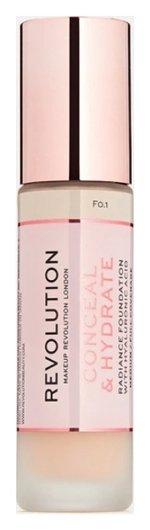 Тональная основа для лица Conceal & Hydrate  Makeup Revolution