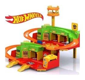 Игровой набор с вертолетной площадкой  Нордпласт