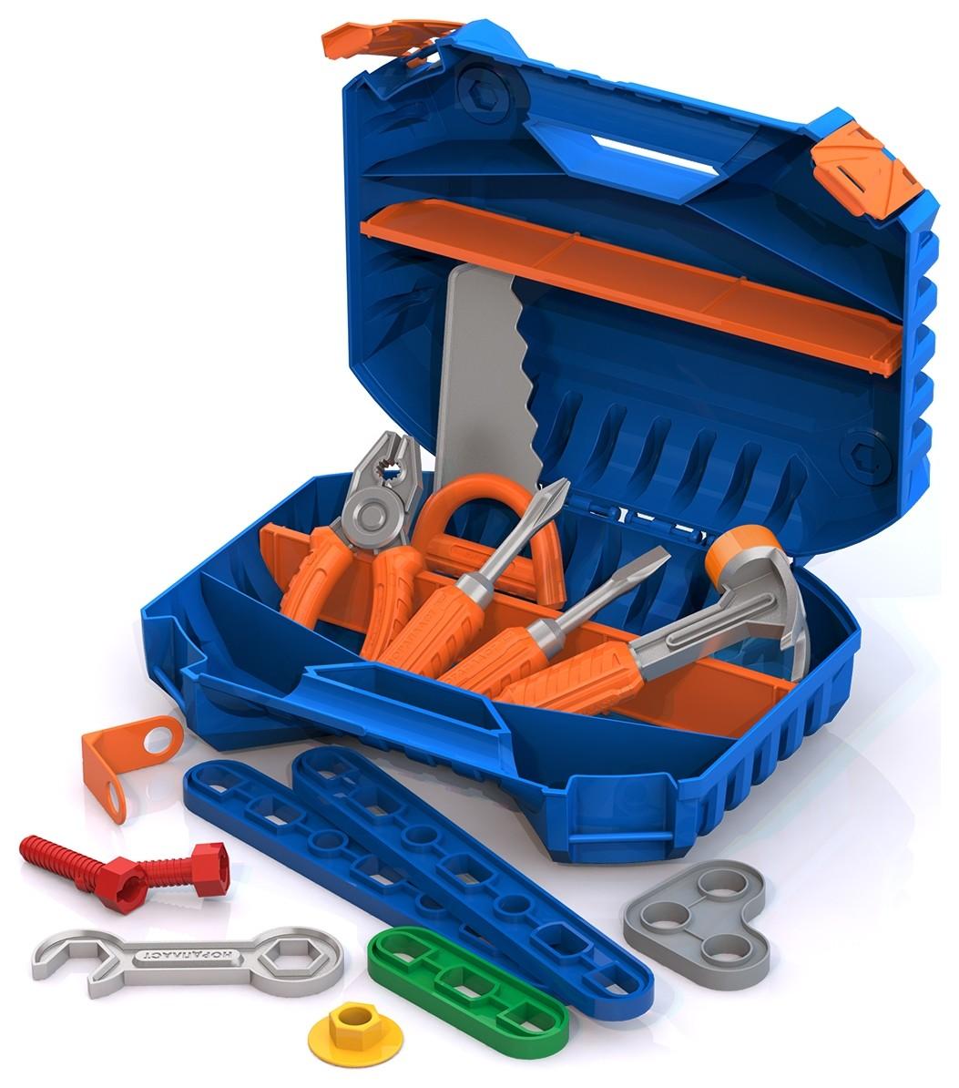 Набор инструментов с конструктором  Нордпласт