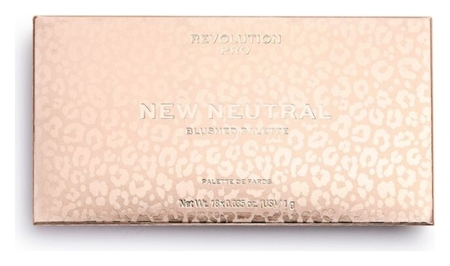 Палетка теней для век Blushed Palette Revolution PRO  New Neutral