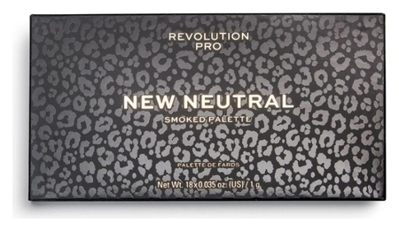 Палетка теней для век Smoked Eyeshadow Palette  Revolution PRO