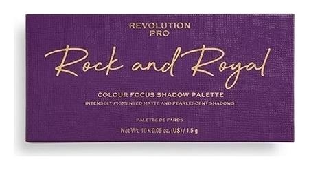 Палетка теней для век Rock And Royal  Revolution PRO
